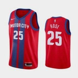 Detroit Pistons Derrick Rose City Jersey